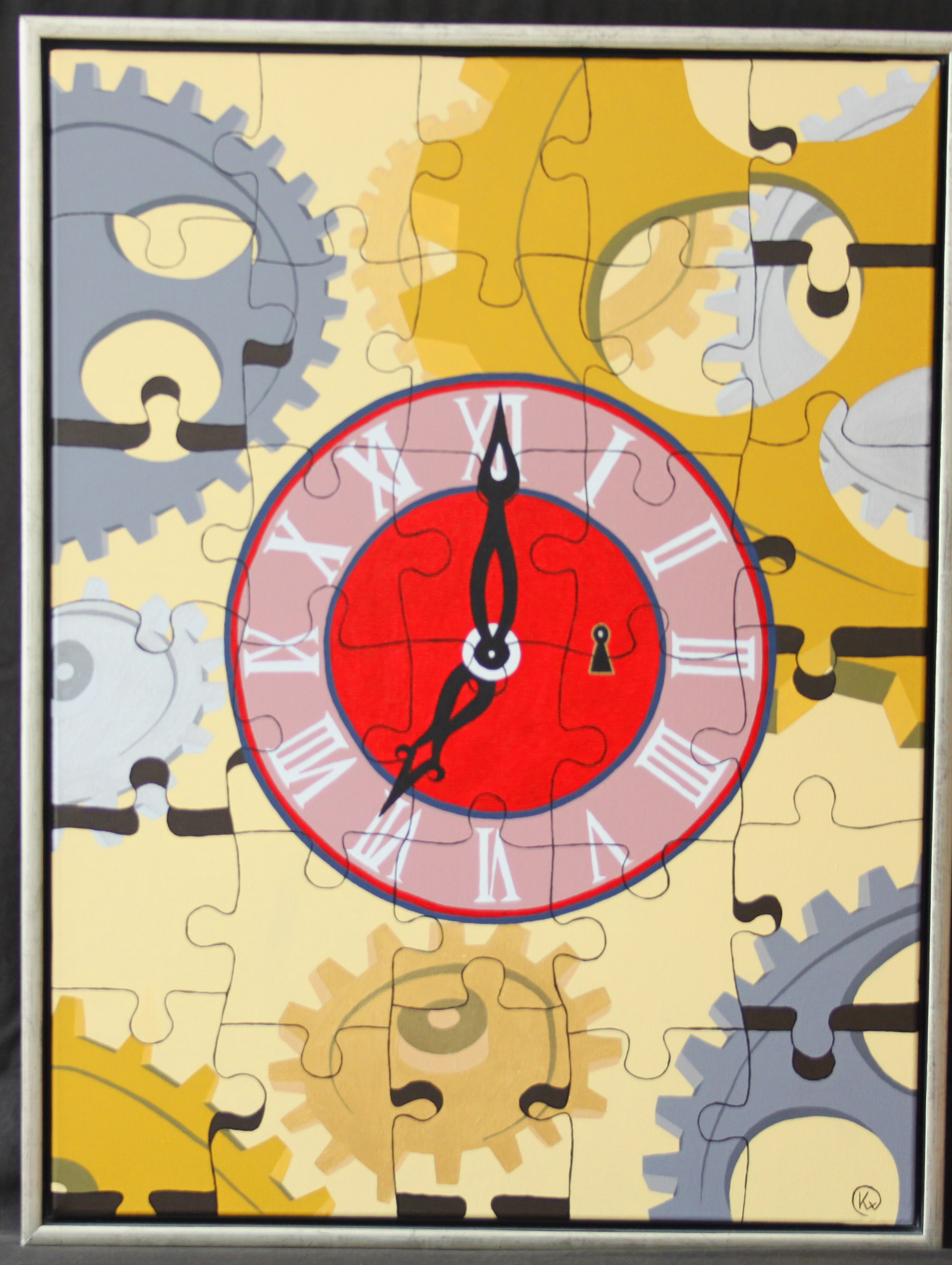 "Titel ""Puzzle Of Time"""